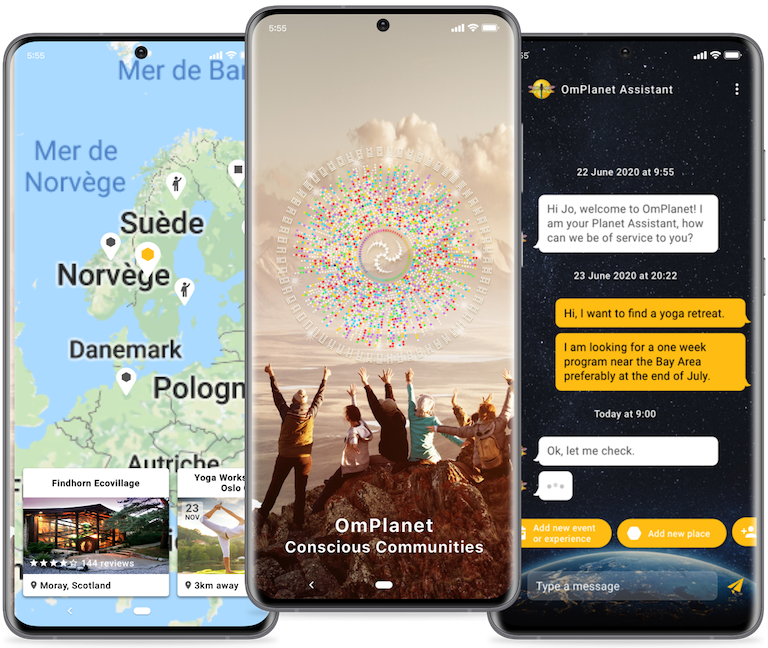 demo mobile screens